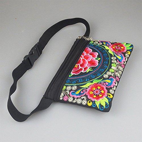 Fleur Banane Motif pour Sac Bag Portefeuille Hip de Youthny Femme 4 AB7zw5x