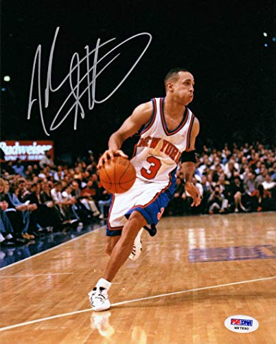 John Starks Autographed Signed Memorabilia 8x10 Photo All Star New York Knicks PSA/DNA Autographed Signed ()