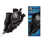 FootJoy Men's RainGrip Pair Golf Glove Black
