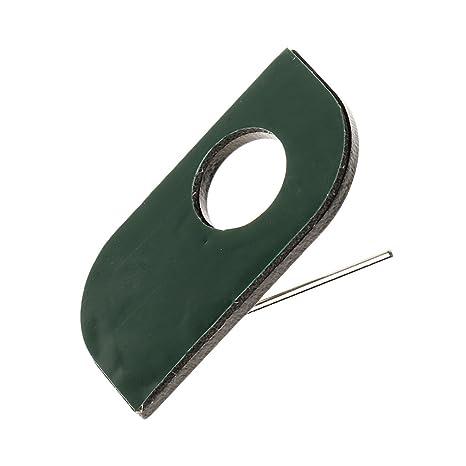 sourcingmap/® 42 mm 304 acero inoxidable con revestimiento de goma EPDM P abrazaderas de manguera abrazadera de tubo 5pcs