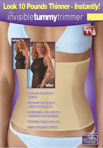 876b502cb14ad Amazon.com  As Seen on TV - The Invisible Tummy Trimmer - Medium ...