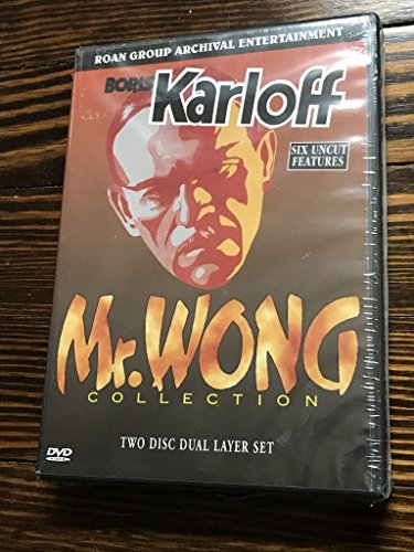 Mr. Wong Collection (Mr. Wong, Detective / Mystery Of Mr. Wong / Mr. Wong In Chinatown / The Fatal Hour / Doomed To Die / Phantom Of Chinatown) (2DVD) by ROAN