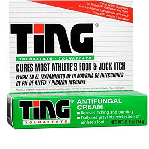 Ting Antifungal Cream 0.50 oz ( Pack of - Ting Antifungal