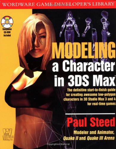 Modeling A Character in 3DS MAX (One-Off)
