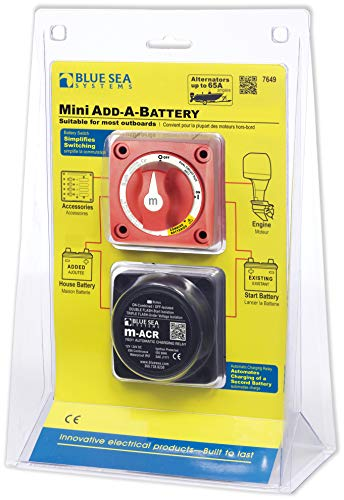 - Blue Sea Systems Mini Add-A-Battery Kit - 65A