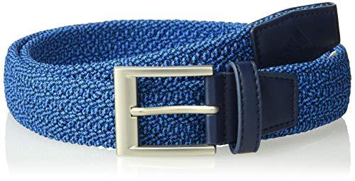 adidas Golf Men's Braided Stretch Belt, Large/X-Large, Bright Blue