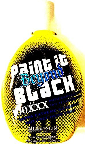Paint It Beyond Black 100x Tanning Bed Lotion