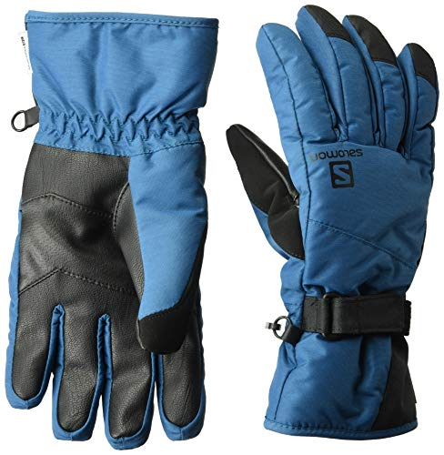 (Salomon Men's Force Dry Glove, Moroccan Blue, Large)