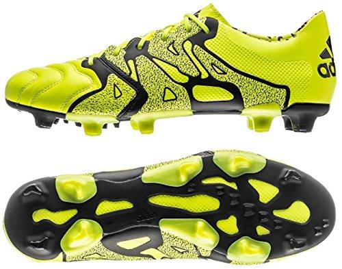 それぞれ小切手ブリードアディダス adidas 29.5cm 天然芝/人工芝用 サッカースパイク エックス X 15.1 FG/AG 国内正規品 B26979 ソーラーイエロー