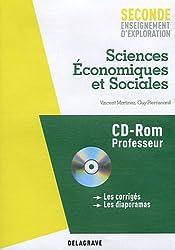 Sciences Economiques et Sociales 2e enseignement d'exploration : Professeur (1Cédérom)