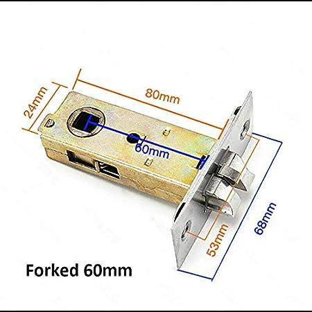 BE-TOOL pestillos de 3 piezas de pestillo de puerta de acero inoxidable de calidad para uso con manijas de puerta de palanca