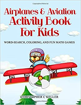 Airplanes & Aviation Activity Book for Kids: Word Search ...