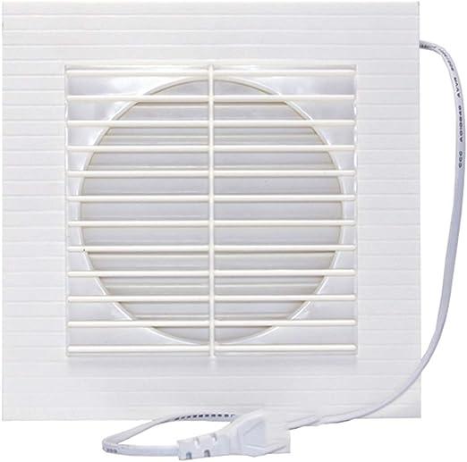 Ventilador de escape Ventana Ventilación Cocina Escape Silencioso Alta Velocidad Potente Baño 150 Mm: Amazon.es: Hogar