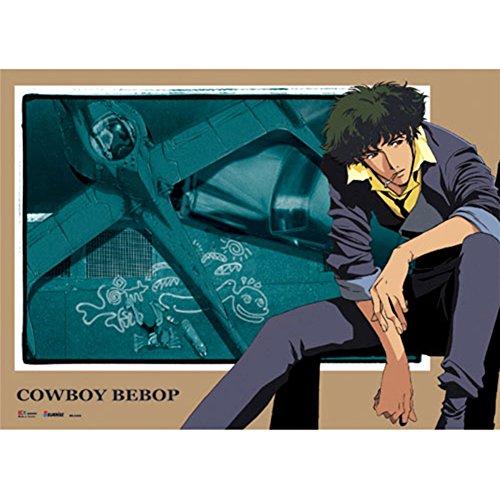 Official Licensed Cowboy Bebop Wall Scroll: Spike & Swordfis