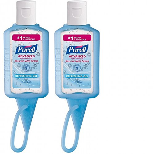 Travel Hand Sanitizer - 1oz Purell Jelly Wrap, Assorted color, 2 pack