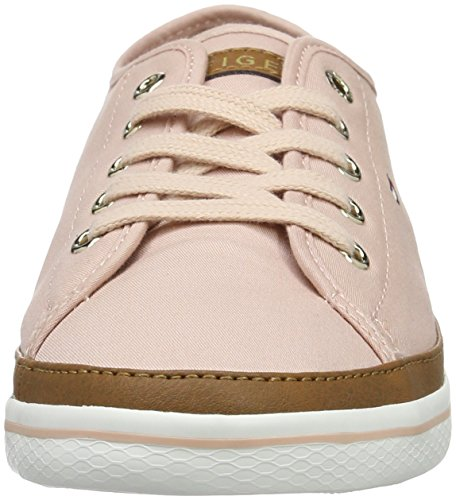 dusty Sneakers Hilfiger 502 6d Femme Tommy Basses K1285esha Rose qf0t1wS4