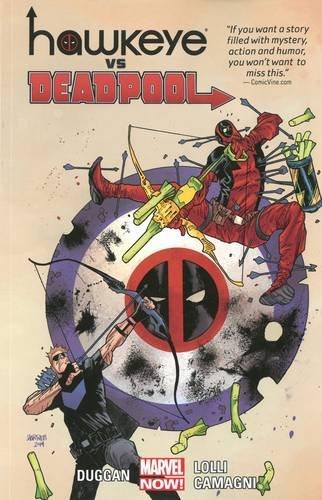 Book Cover: Hawkeye vs. Deadpool