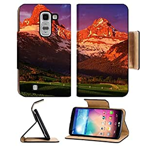 Beautiful Sunset Mountain Shadow Scenery LG G Pro 2 Flip Case Stand Magnetic Cover Open Ports Customized Made to Order Support Ready Premium Deluxe Pu Leather MSD cover Professional Cases Accessories Graphic Background Covers Designed Model Folio Sleeve H by lolosakes