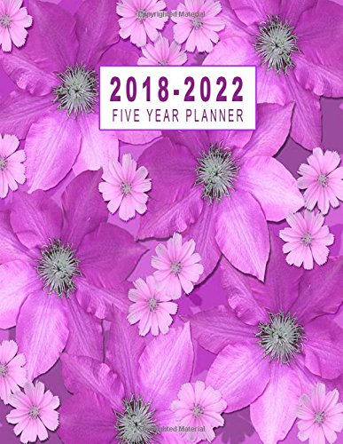 Read Online 2018-2022 Five Year Planner: 2018-2022 Monthly Planner   Five Year Planner 2018-2022  Monthly Calendar Schedule Organizer Agenda Planner  Five Year Planner 8.5 x 11 Planner (Volume 7) PDF