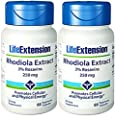 Life Extension Rhodiola Extract 250 Mg, 60 Vegetarian Capsules