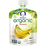 gerber first baby food - Gerber Organic 1st Foods Baby Food Bananas, 3.17 Ounce Pouch (Pack of 12)