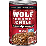 Wolf Brand Hot Chili Without Beans, 15 Ounce