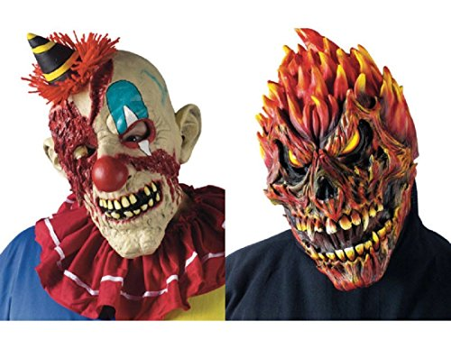 FEARSOME FACES MASK SKULL -