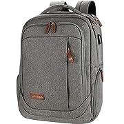 KROSER Laptop Backpack 17.3 Inch Computer Backpack Daypack Water-Repellent Laptop Bag with USB Charging Port for…