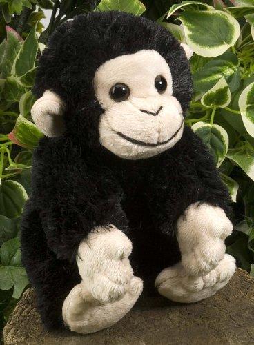 [Wild Republic 18cm Hug'ems Chimpanzee Plush] (Chimp Hands Costume)