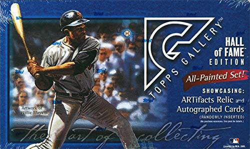 (2003 Topps Gallery Hall of Fame Edition Baseball Hobby Box)