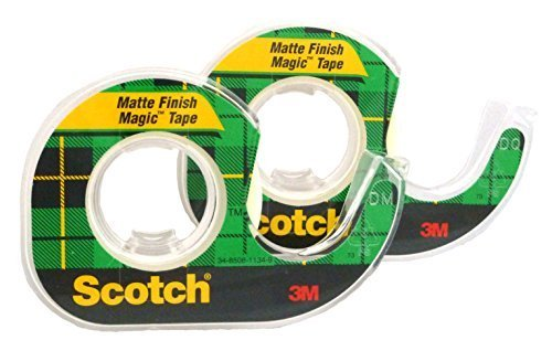 Scotch Magic Tape, 1/2 x 1296 Inches, Boxed, 2 Rolls