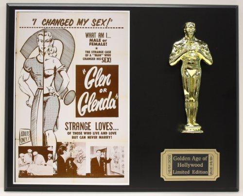 Glen Or Glenda Ed Wood Campy Classic LTD Edition Oscar Movie Poster ()