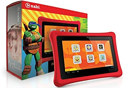 Amazoncom Nabi 2 Nickelodeon Edition 7in Red Computers