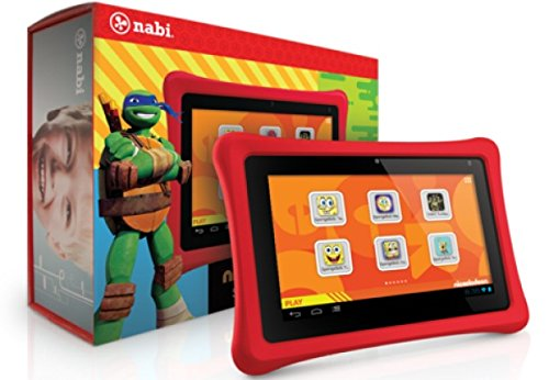 Nabi 2 Nickelodeon Edition , 7in - Red