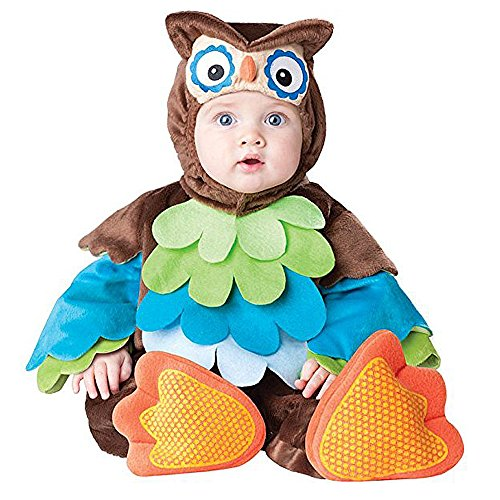 Toddler Baby Infant Owl Night Animal Costume Christmas
