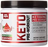 Best Fat Burning Supplements - Ketogenic Pre Workout Supplement - Promotes Healthy Weight Review