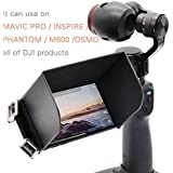 Recharlance, Remote Controller Phone Monitor Sun hood Sunshade Cover Hood Smartphone Tablet iPad Sun Shade for DJI Mavic pro Phantom 4 pro Inspire M600 (L128)
