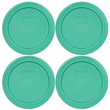 Pyrex 7202-PC Round 1 Cup Green Plastic Lid Cover by Pyrex