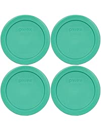 Access Pyrex 7202-PC Round 1 Cup Green Plastic Lid Cover (4 Pack) compare