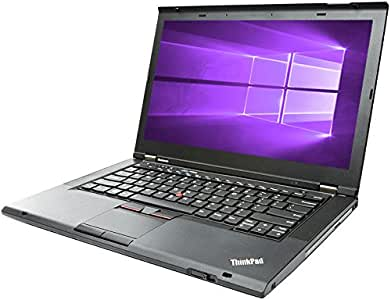 Lenovo ThinkPad T430 Business Laptop Computer, Intel Core i5 2.50GHz up to 3.2GHz, 4GB Memory, 128GB SSD, DVD, Windows 10 Professional (Renewed)