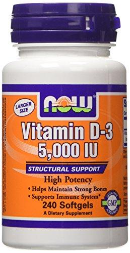 Now Foods VITAMIN D 3 5000