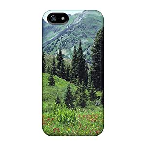 Case Cover, Fashionable Iphone 5/5s Case - Mountain Meadow
