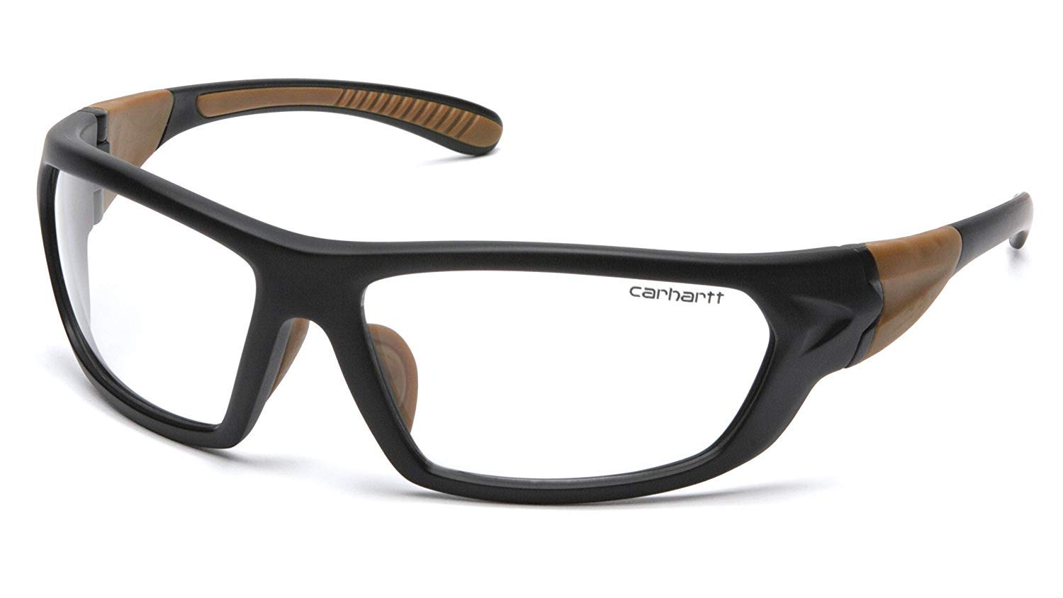 Carhartt Carbondale Safety Glasses with Clear Anti-Fog Lens (2 Pack) by Carhartt (Image #1)