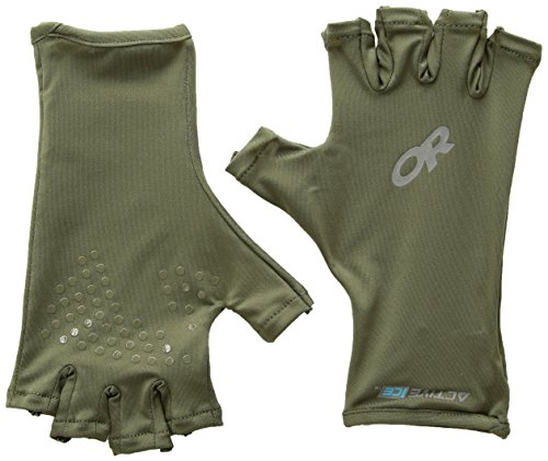Outdoor Research Active Ice Spectrum Sun Gloves, Fatigue, ()