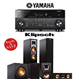 Yamaha AVENTAGE RX-A760BL 7.2-Channel Network A/V Receiver + Klipsch R-26F + Klipsch R-15M + Klipsch R-25C + Klipsch R-12SW - 5.1 Reference Home Theater Package