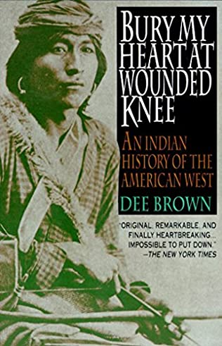 book cover of Bury My Heart at Wounded Knee