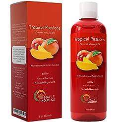 Natural Edible Massage Oil for Sensual M...