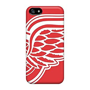 StaceyBudden Scratch-free Phone Cases For Iphone 5/5s- Retail Packaging - Detroit Red Wings