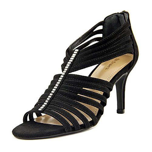 Style & Co. Womens Shaynaa Open Toe Casual Strappy Sandals Black LBMJmYLk