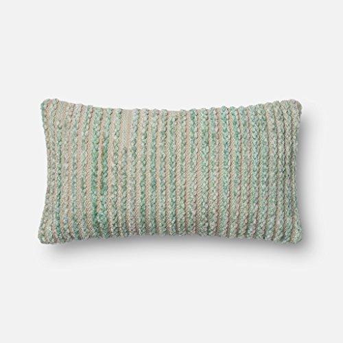 Loloi MIS02 Cotton & Rayon Pillow Cover, 12